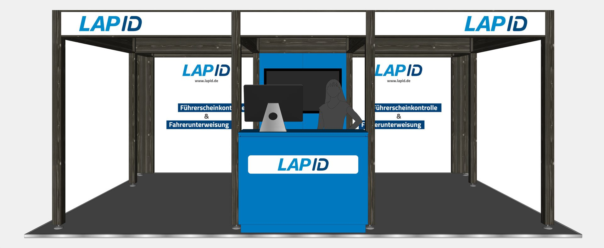 LapID Messestand